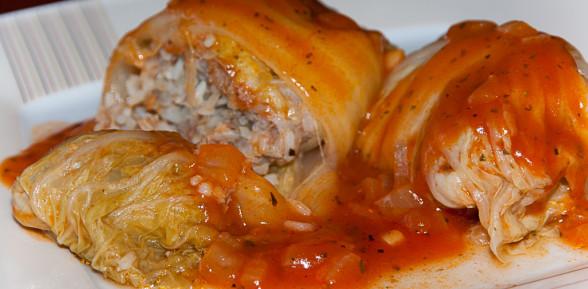 Gołąbki z kapusty pekińskiej