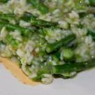 Szparagi z ryżem