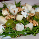 Rukola z gruszka i gorgonzola