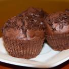 Muffinki mocno czekoladowe