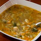 Jesienna zupa z kiełkami