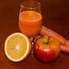 Sok z marchewki, jabłek i pomarańczy
