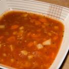 Zupa z soczewicą i warzywami